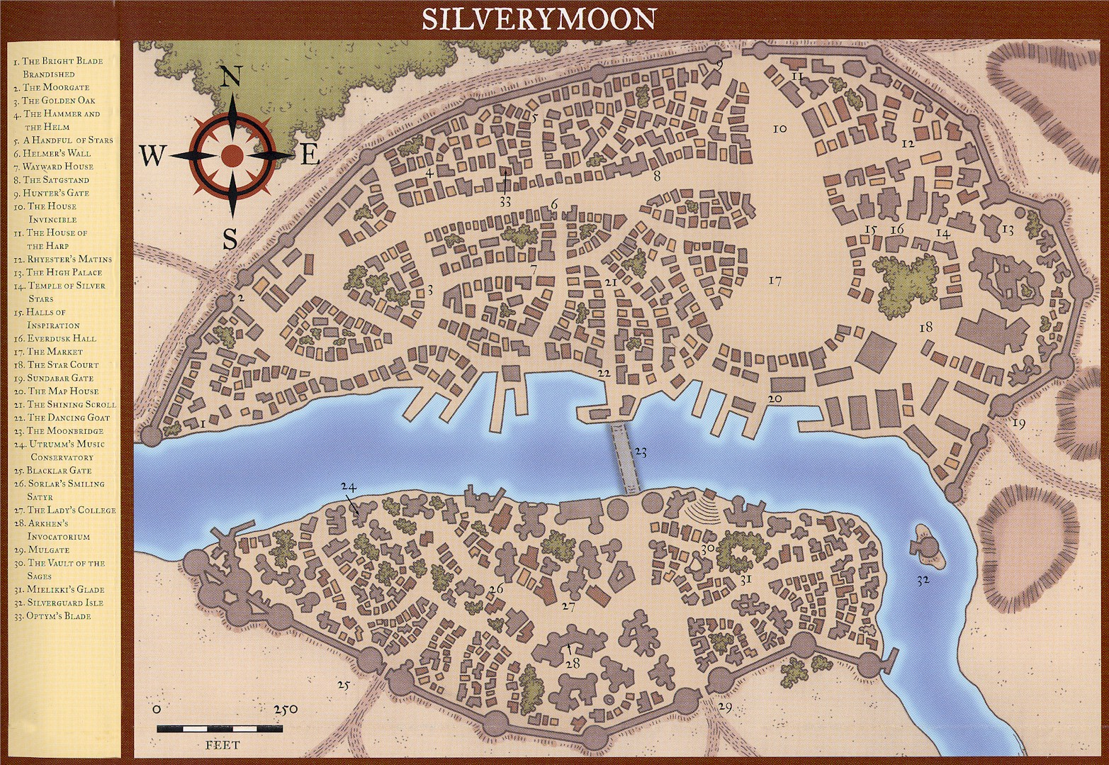 Locations The Savage North Rpg